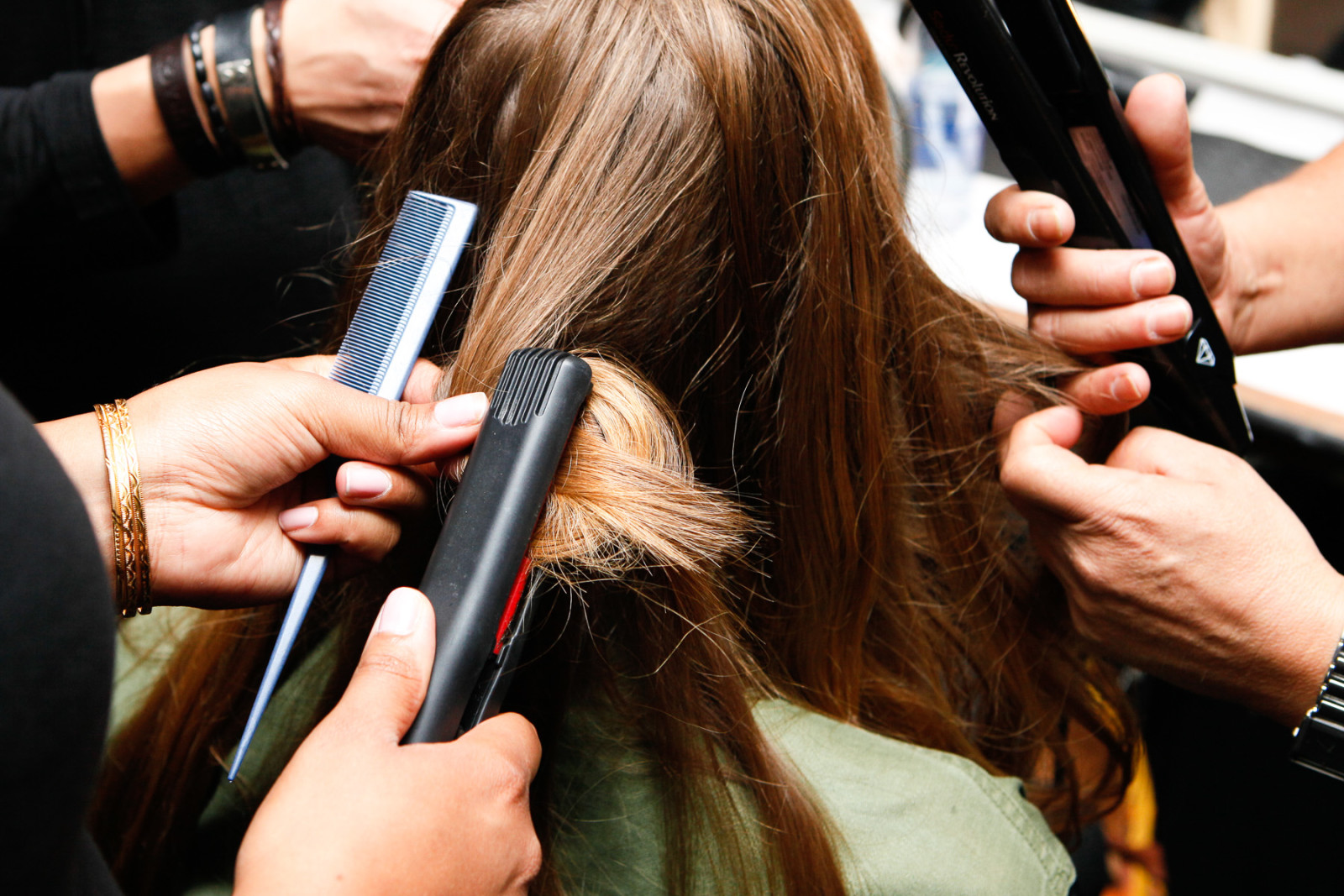 So you've slept in again…how to get good hair, quickly