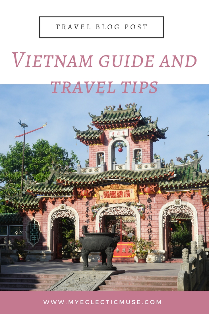 Travel planning inspiration with an itinerary for trip to Vietnam, plus handy tips.